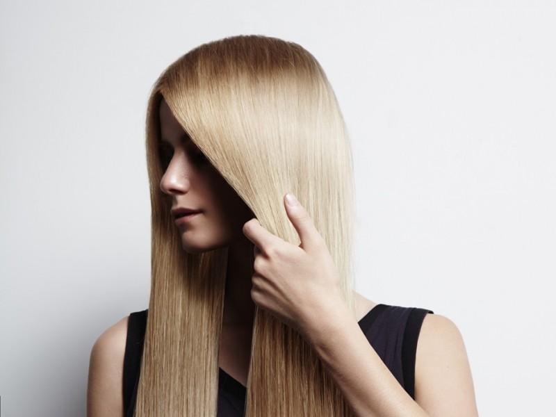 platta håret varje dag